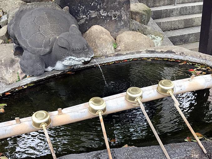 艮神社の手水舎(尾道市)うしとらじんじゃ
