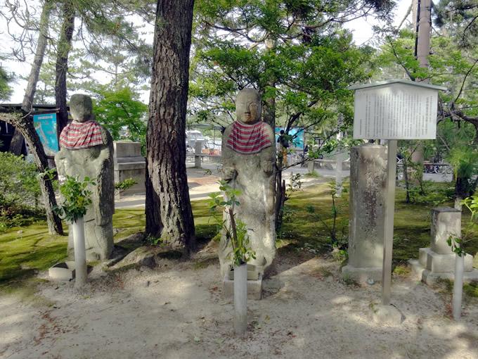 天橋立・智恩寺・石造地蔵菩薩立像