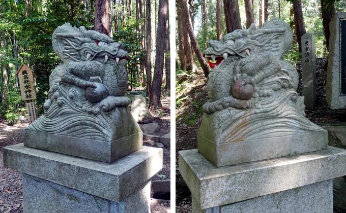 天橋立・真名井神社・狛犬