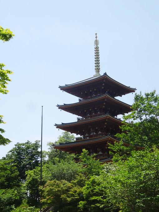 成相寺・五重塔