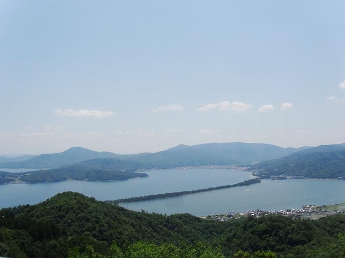 成相寺から天橋立