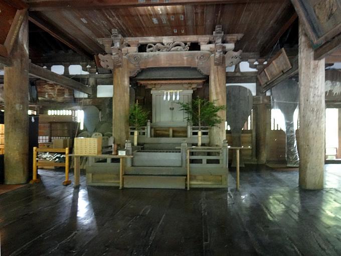 宮島・豊国神社(千畳閣)の御朱印