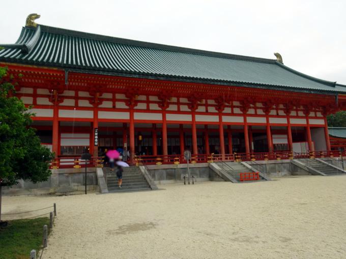 平安神宮・大極殿(外拝殿)(京都市左京区)