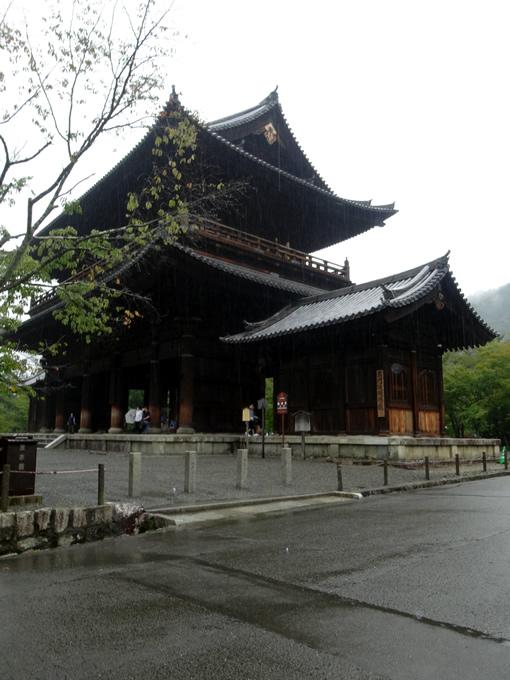 南禅寺・三門(京都市左京区)