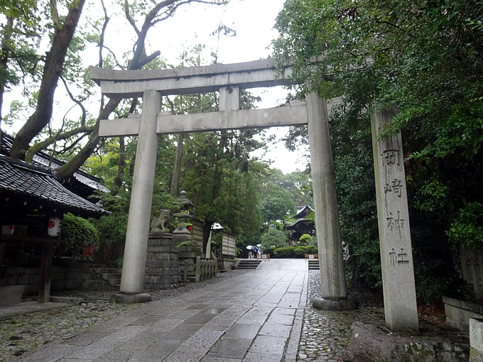 京都のうさぎ神社・東天王 岡崎神社