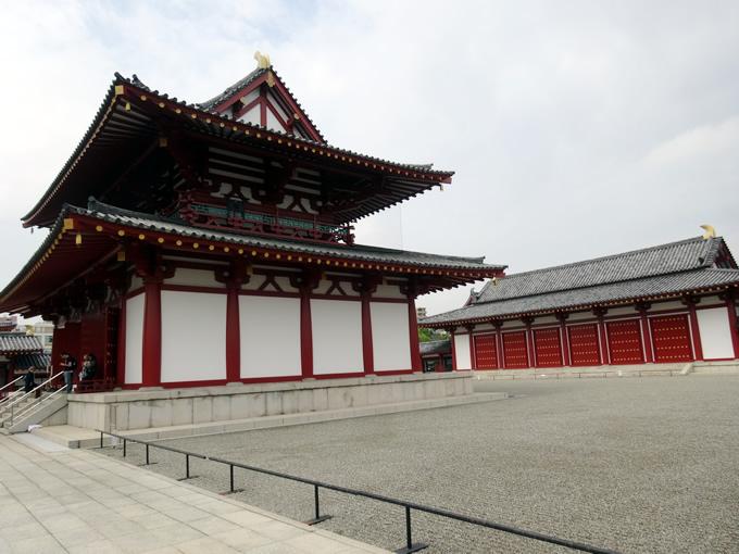 四天王寺の金堂・講堂