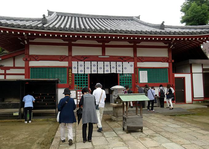 四天王寺・万灯院(紙衣堂)