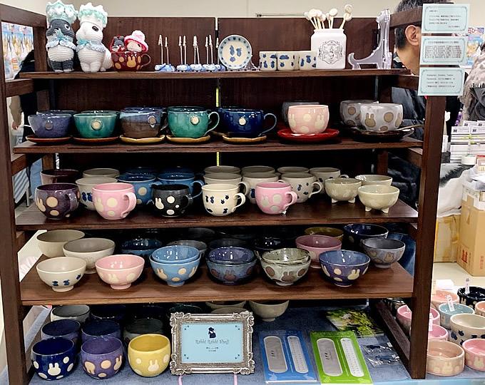 ラビラビ商事さんの陶器