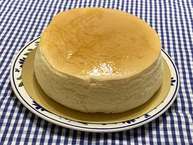 洋菓子工房プランタンのチーズケーキ(広島市中区東白島町)