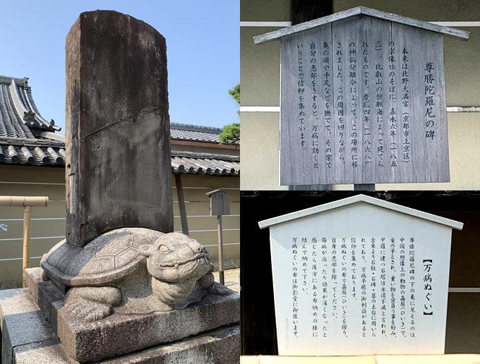 東寺・尊勝陀羅尼の碑~京都三弘法まいり①