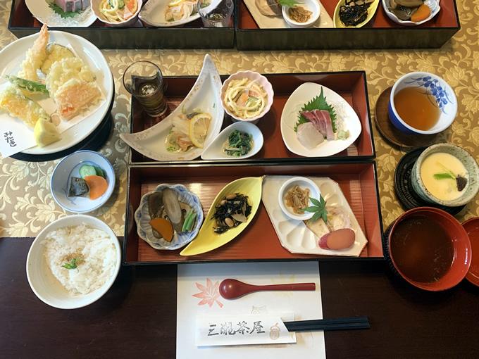 三瀧茶屋でランチ(広島市西区)