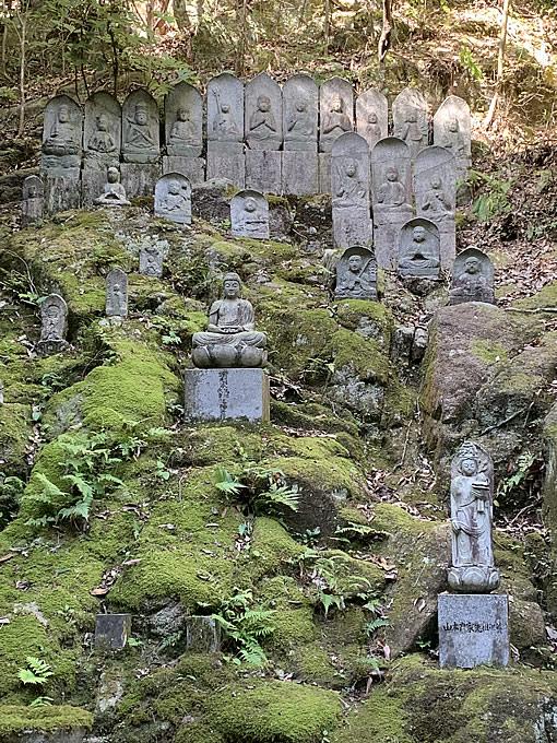 三瀧寺・石仏(広島市西区)