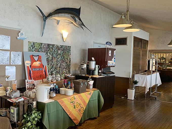 海沿いのレストラン・カリブでランチ(安芸郡坂町)