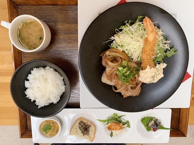 Cafe照(カフェテラス)でランチ(安芸郡熊野町・筆の里工房)