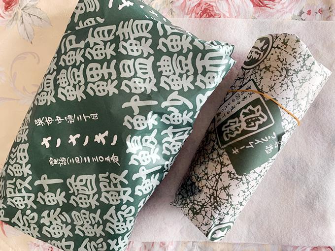 ささき寿司の巻き寿司と福住のフライケーキ(広島県呉市中通)