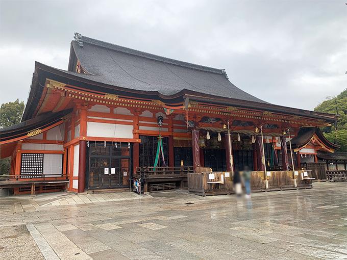八坂神社・本殿(京都市東山区祇園町)