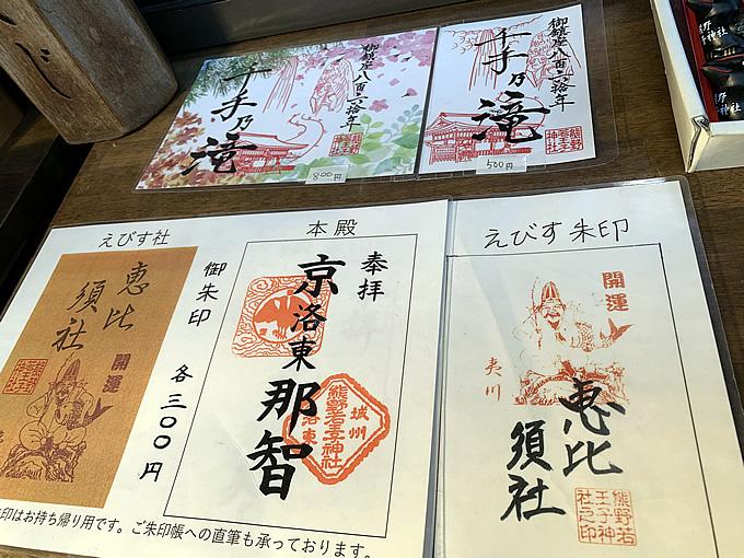 熊野若王子神社(くまのにゃくおうじじんじゃ)の御朱印(京都市左京区)