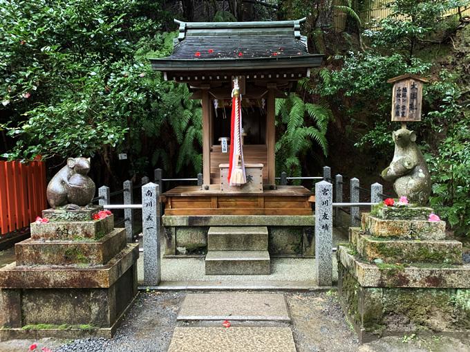大豊神社の御朱印(京都市左京区)