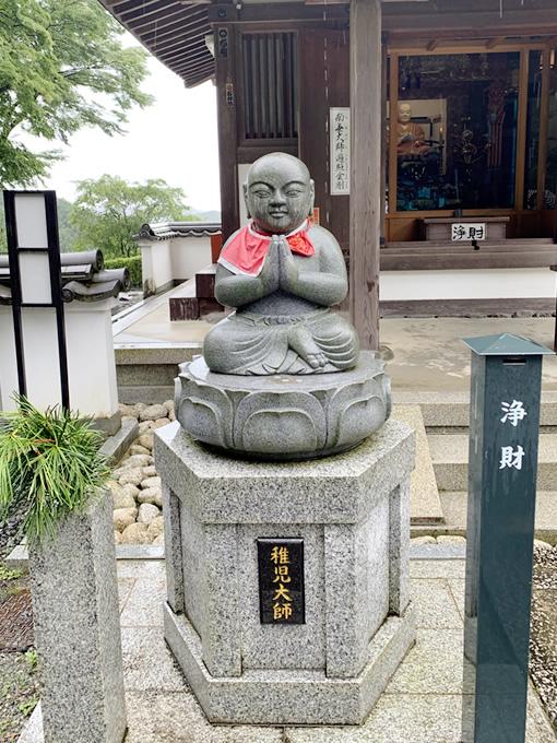岡寺・稚児大師像