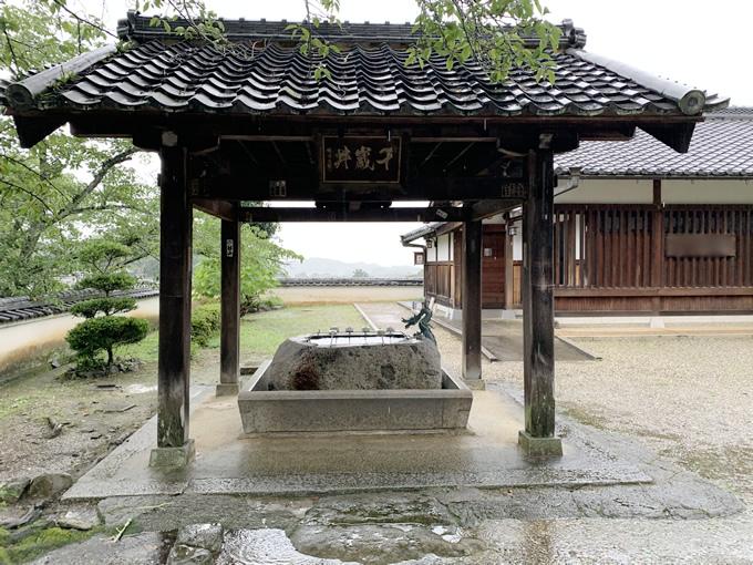 橘寺・手水舎(奈良県明日香村)