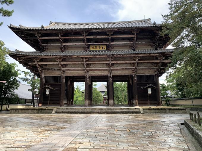 東大寺南大門(奈良市)