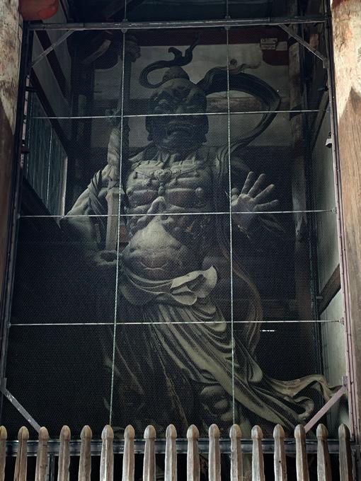 東大寺南大門・金剛力士像(仁王像)・阿形像