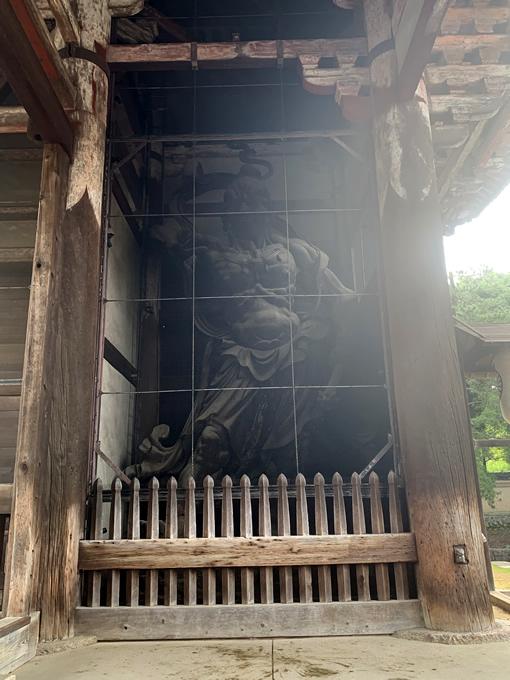 東大寺南大門・金剛力士像(仁王像)・吽形像