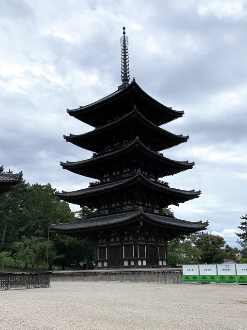 興福寺・五重塔(奈良市)