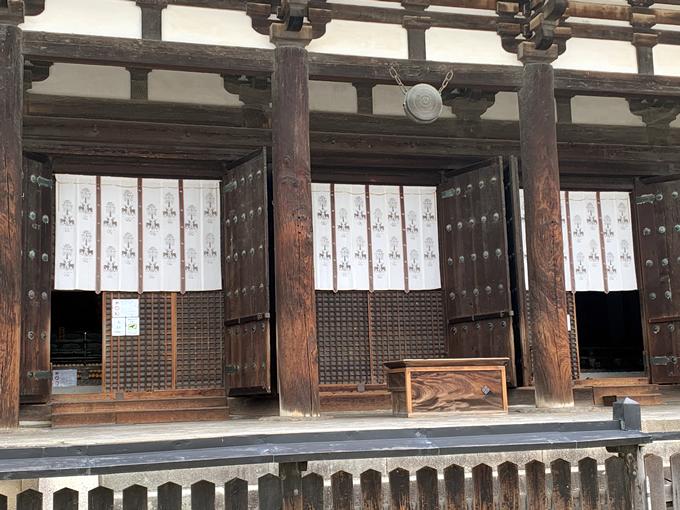 興福寺・東金堂几帳